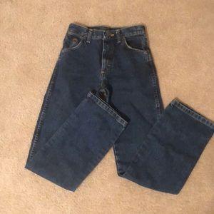 Boys Wrangler Bootcut Jeans -Size 14 Slim